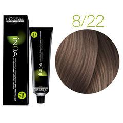 L'Oreal Professionnel INOA 8.22 (Светлый блондин интенсивный перламутровый) - Краска для волос