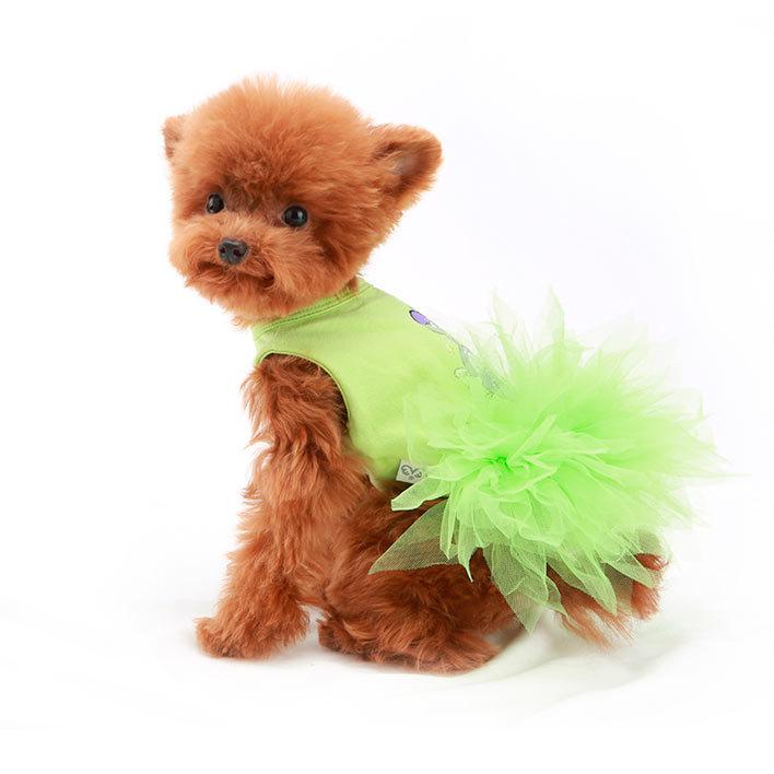 платье для собак с пачкой