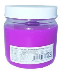 Слайм Стекло серия Party Slime, фиолетовый неон, 400 гр