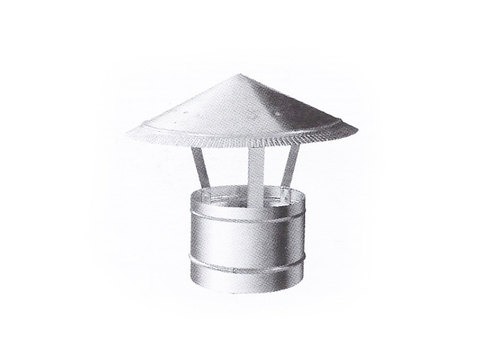 Зонт D 160 оцинкованная сталь