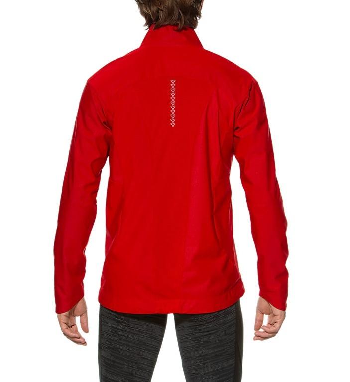 Мужская ветрозащитная куртка Asics Windblock (129873 6015) красная