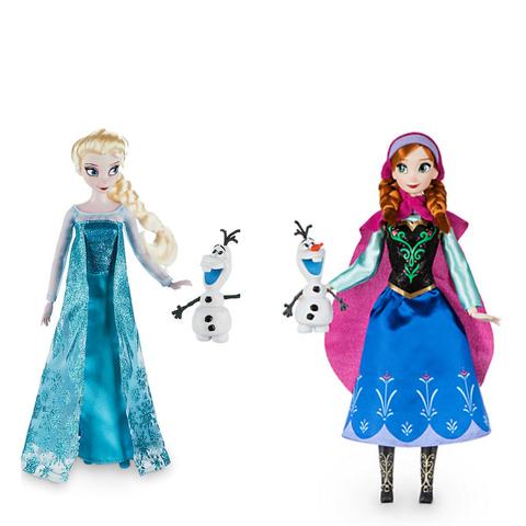 Набор кукол Принцессы Анна и Эльза