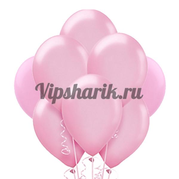Розовые металлик