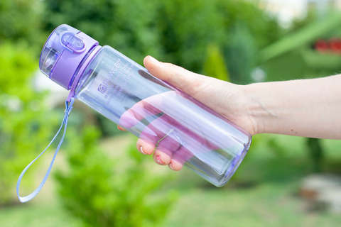 Бутылка для воды Powcan 560 мл - Purple глянцевая
