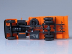 MAZ-200 board orange 1:43 AutoHistory