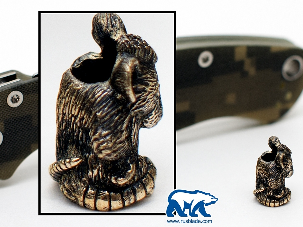 "Custom Sword Knot ""Mouse"" Limited Edition"