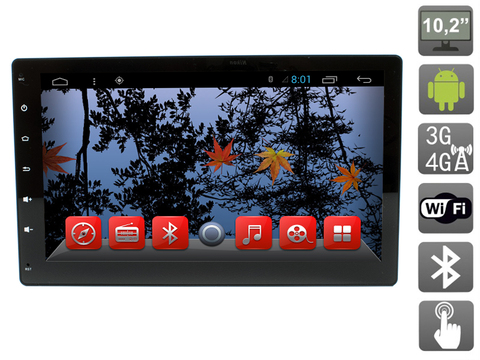 Универсальное головное устройство 2 DIN на Android AVIS Electronics AVS102AN