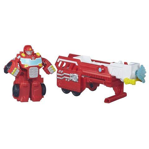 Робот - трансформер Хитвейв (Heatwave) Пожарная машина с трейлером - Боты спасатели (Rescue Bots), Hasbro