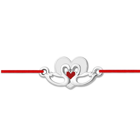 Браслет-красная нить с подвеской