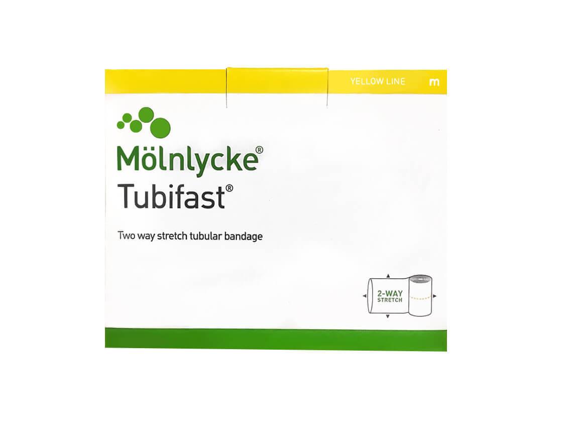 Тубифаст (Tubifast) желтая линия 10,75см х 10м