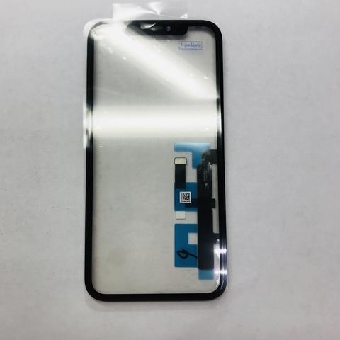 Тачскрин/стекло iPhone 11 с дисплейной рамкой