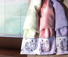 Набор полотенец  3 предмета LIERRA - ЛИЕРА / Maison Dor (Турция)