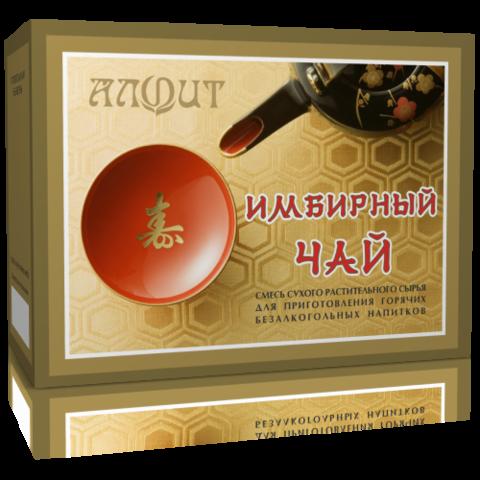 Чай Алфит Имбирный 20 ф.пак. (Гален)