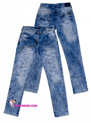 AD8898 джинсы ромбики