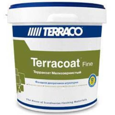 Terraco Terracoat Fine/Террако Терракоат Файн декоративное покрытие на акриловой основе с текстурой типа «шагрень»
