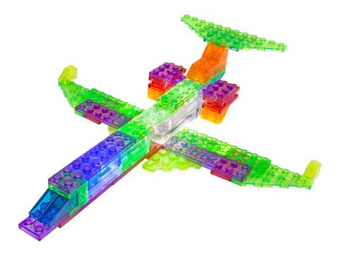 Конструктор Laser Pegs «Самолёт» 6 в 1 (ZD140B)