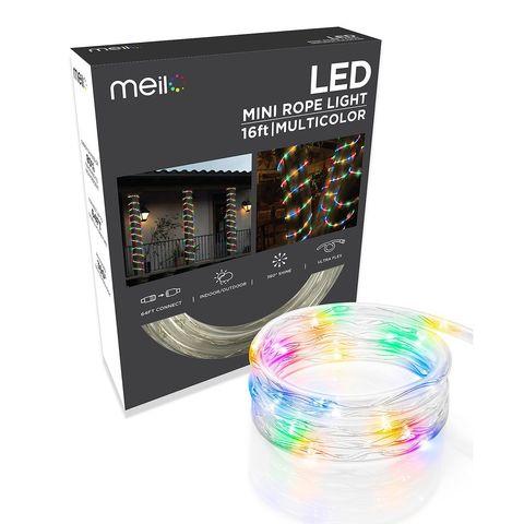 Разноцветный шланг 20 метров мультик дюралайт LED 2WRL круглый на деревья RGB
