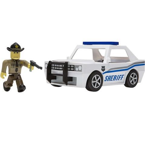 Игровой Набор Роблокс Полицейский на машине - Roblox Neighborhood of Robloxia Patrol Car, Jazwares