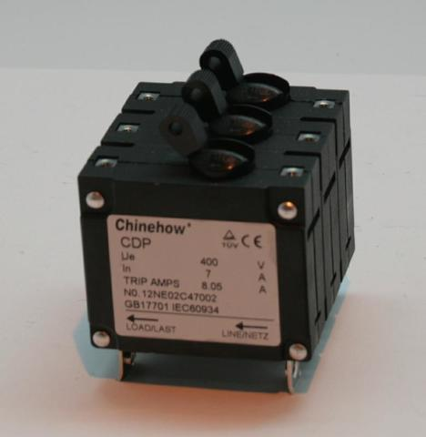Компонент электронный автомат защиты DDE 3ф 7А DPG7553-3E/DDG6000-3E унив.