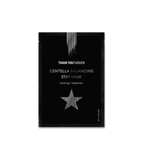 Маска THANK YOU FARMER Centella Balancing Star Mask 1 шт.