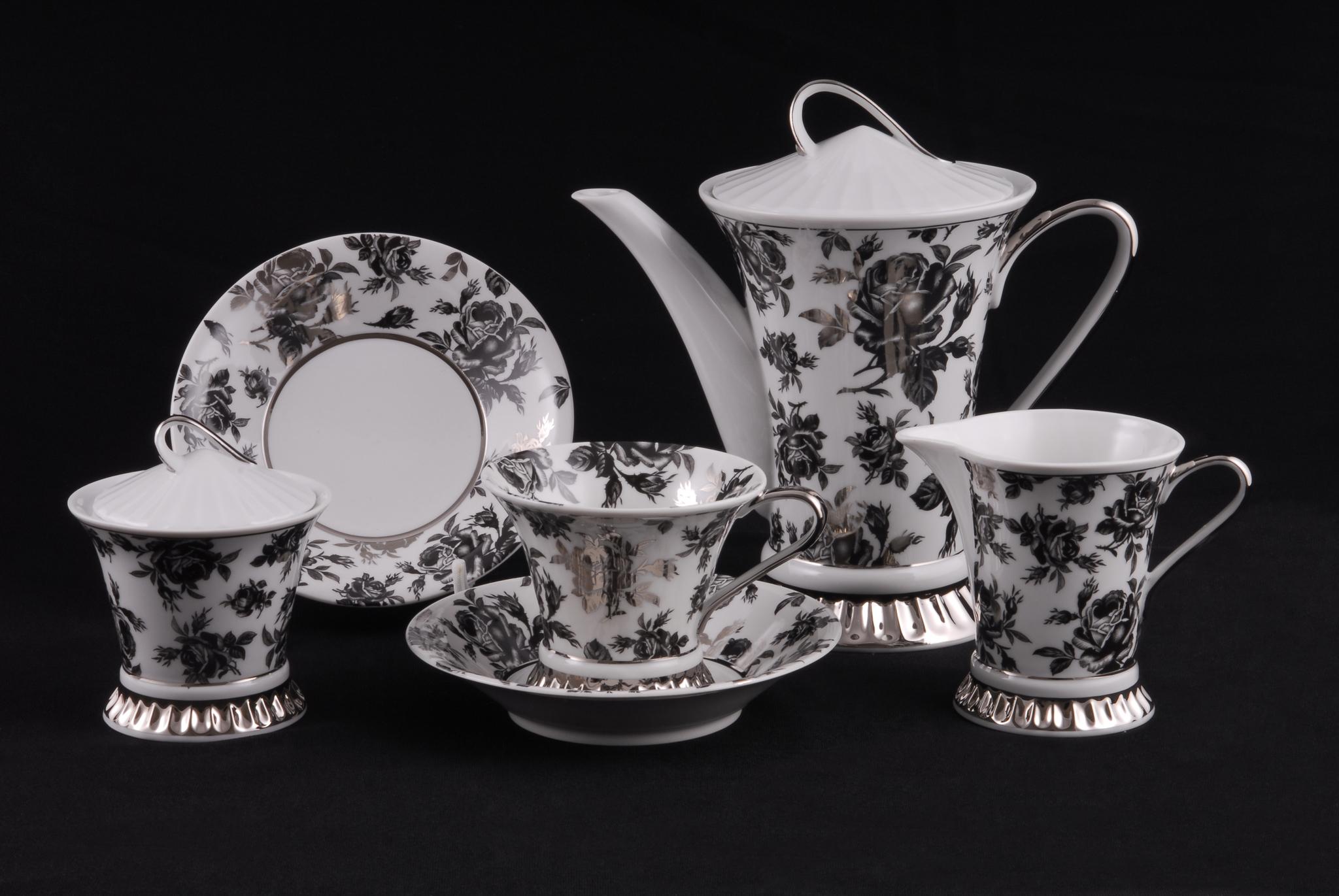 Сервиз чайный 15 предметов Светлана Leander