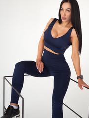 Мини-топ женский Lion gym ULTRACLASSIC DARK BLUE