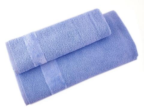 Набор полотенец 3 шт Carrara Fyber голубой