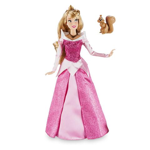 Кукла Принцесса Аврора (Aurora) Перевыпуск c питомцем - Спящая Красавица, Disney
