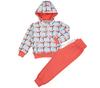 Спортивный костюм для девочки  Обезьянки в клеточку