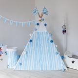 Вигвам Blue Stripes Tipi (детский игровой домик, палатка)