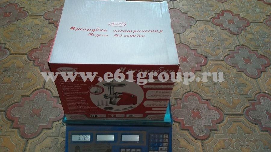 1 Мясорубка электрическая Комфорт Умница MЭ-2600Вт