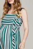 Платье для беременных 10234 зеленый