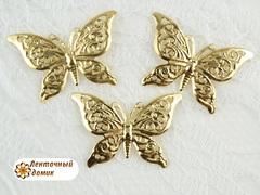 Филигрань Бабочка золотая № 1