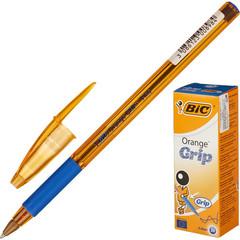 Ручка шариковая BIC Orange grip fine 811926 рез.манжет синий 0.35мм