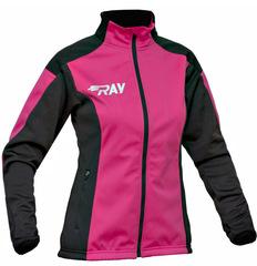 Лыжная разминочная куртка Ray Pro Race WS Pink женская