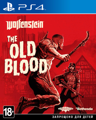 Sony PS4 Wolfenstein: The Old Blood (русские субтитры)