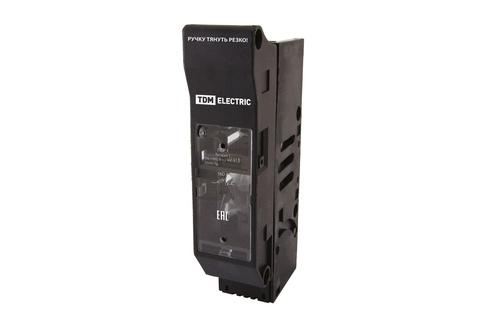 Выключатель-разъединитель с функцией защиты ПВР 00 1П 160A TDM