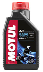 Моторное масло MOTUL 3000 4T SAE 10W40