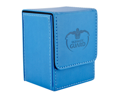 Ultimate Guard - Синяя кожаная коробочка на 100+ карт для Коммандера
