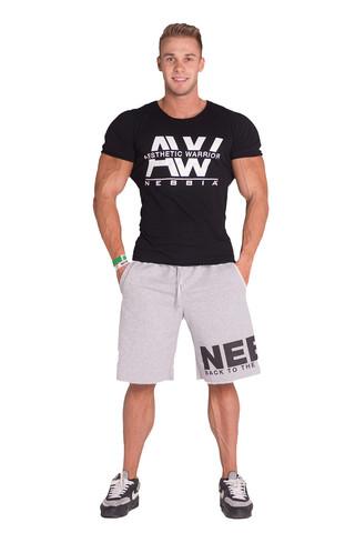 Мужская футболка Nebbia AW top 127 black