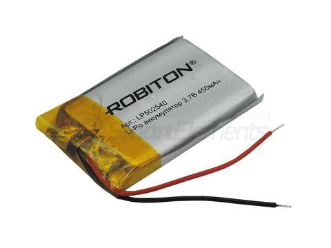 Аккумулятор Robiton LP502540 (450 мАч)