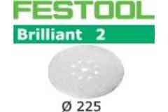 Шлифовальные круги FESTOOL STF D225/8 P120 BR2/25