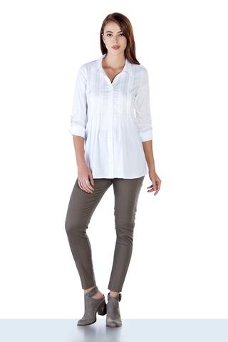 Блузка для беременных 09887 белый