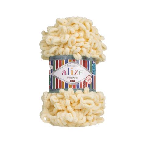 Купить Пряжа Ализе Пуффи Файн Код цвета 160 | Интернет-магазин пряжи «Пряха»