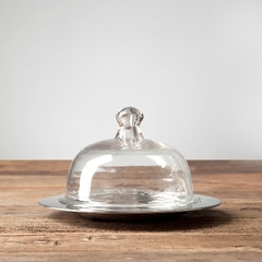 Чаша с крышкой 21,5х21,5х13 см Roomers Exstera
