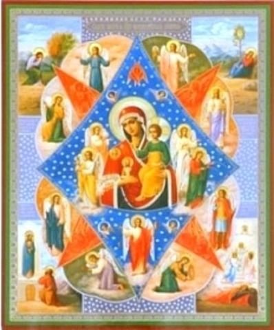 Икона Божией Матери Неопалимая купина 2