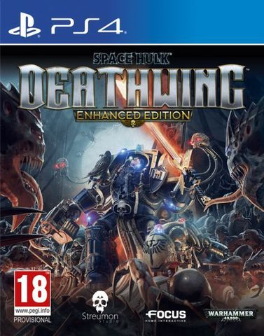 PS4 Space Hulk Deathwing. Enhanced Edition (русские субтитры)