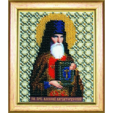 Б-1042 Икона святого преподобного Алексия Карпаторусского