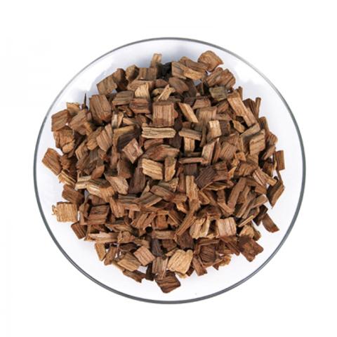 Щепа дубовая (чипсы) 200 г. средний обжиг