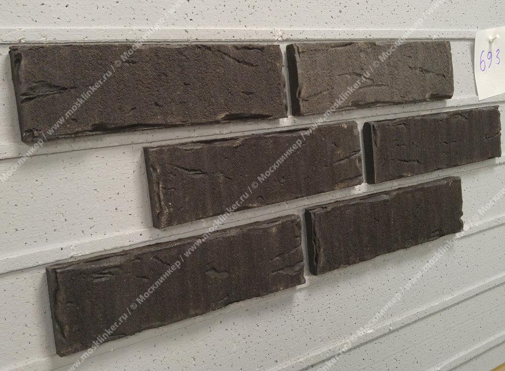 Клинкерная плитка под кирпич Feldhaus Klinker, sintra vulcano, R693NF14